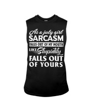 LIMITED EDITION - SARCASM FALLS OUT  Sleeveless Tee thumbnail