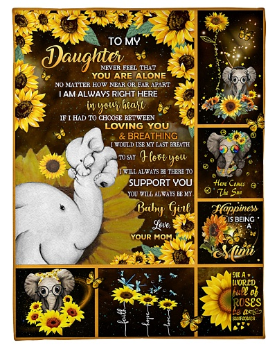 BLANKET - TO MY DAUGHTER 09 - HTL