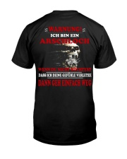 DANN GEH EINFACH WEG Classic T-Shirt back