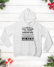 Limited version - lucky man Hooded Sweatshirt lifestyle-holiday-hoodie-front-3