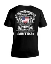 Limited version - Grumpy Veteran V-Neck T-Shirt thumbnail