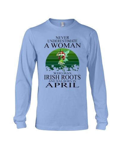 IRISH WOMAN WAS BORN IN APRIL