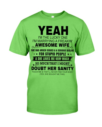 I'M THE LUCKY ONE - I'M MARRYING AN AWESOME WIFE