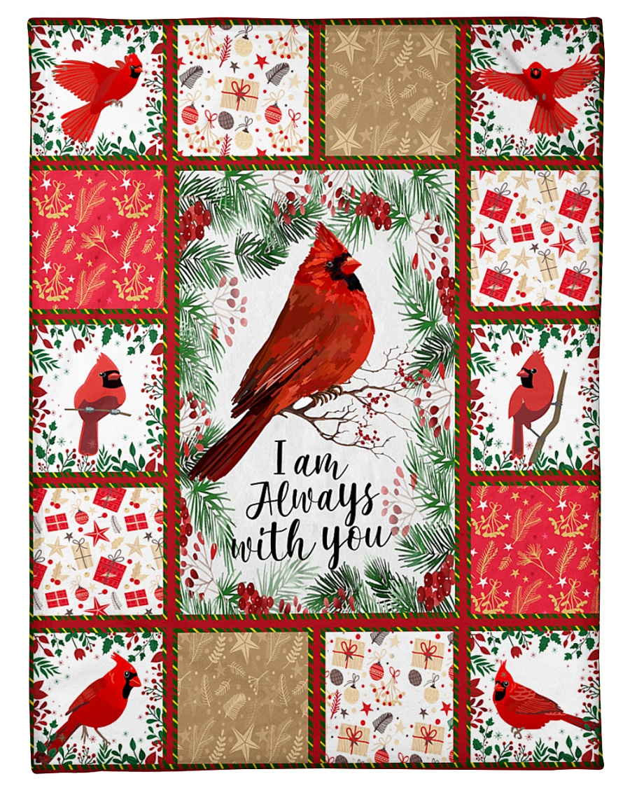 "BLANKET - I AM ALWAYS WITH YOU Small Fleece Blanket - 30"" x 40"""