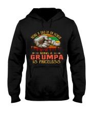 BEING A GRUMPA Hooded Sweatshirt tile