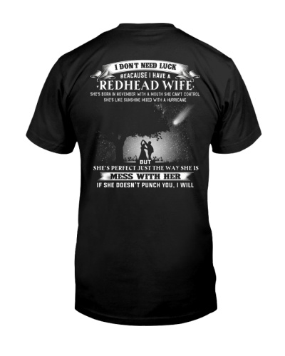 LIMITED - MY REDHEAD WIFE