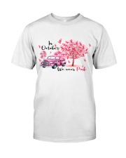 CANCER - DTA Classic T-Shirt front