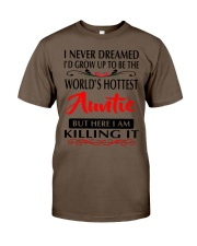 WORLD'S HOTTEST AUNTIE Classic T-Shirt thumbnail