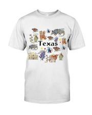TEXAS - DTA Classic T-Shirt front