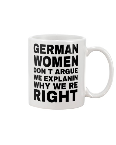LIMITED EDITION - GERMAN WOMEN DON'T EXPLAIN