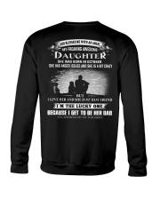 I LOVE MY FATHER - DAUGHTER OCTOBER Crewneck Sweatshirt thumbnail