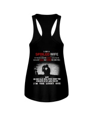 I'M A SPOILED WIFE - MY HUSBAND JUST LOVES ME Ladies Flowy Tank thumbnail