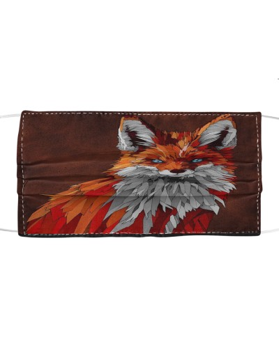 Fabric Mask Fox-face version-HTV