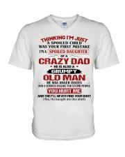 SPOILED DAUGHTER V-Neck T-Shirt thumbnail