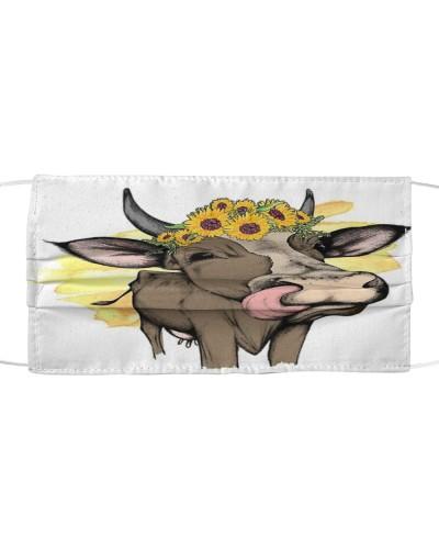 Face Veil Cow