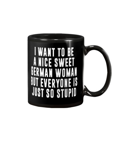 LIMITED EDITION - A NICE SWEET GERMAN WOMAN