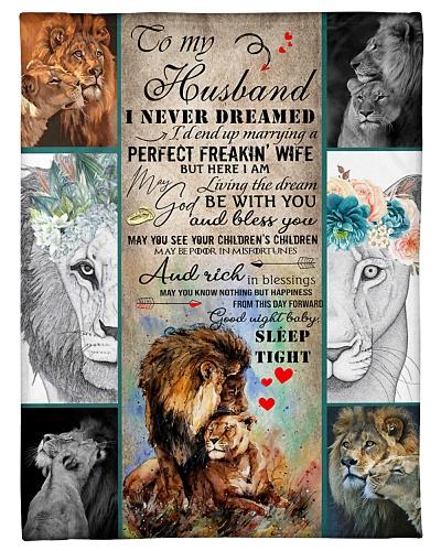 I'M MARRYING A PERFECT HUSBAND - BLANKET