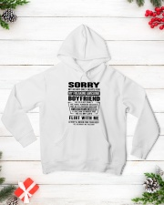 MY FREAKING AWESOME BOYFRIEND - DTS Hooded Sweatshirt lifestyle-holiday-hoodie-front-3