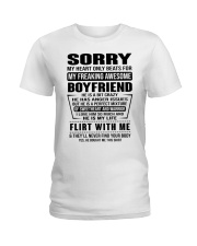 MY FREAKING AWESOME BOYFRIEND - DTS Ladies T-Shirt thumbnail