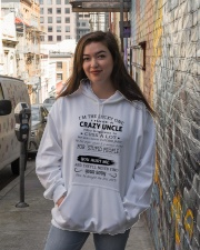 I HAVE A CRAZY UNCLE-FEBRUARY Hooded Sweatshirt lifestyle-unisex-hoodie-front-1