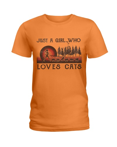 GIRL LOVES CATS