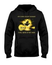 ON A DARK DESERT HIGHWAY - T Hooded Sweatshirt front