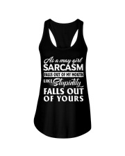 LIMITED EDITION - SARCASM FALLS OUT Ladies Flowy Tank thumbnail
