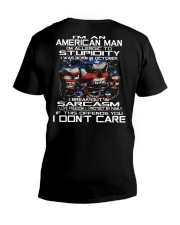 AMERICAN MAN - 10 V-Neck T-Shirt thumbnail