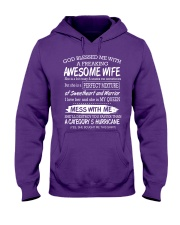 WIFE Hooded Sweatshirt front