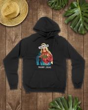 TOM- CHRISTMAS HATER LOVE MARY JANE Hooded Sweatshirt lifestyle-unisex-hoodie-front-7