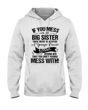 BOOM - BIG SISTER Hooded Sweatshirt front