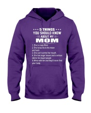 5 THING Hooded Sweatshirt front