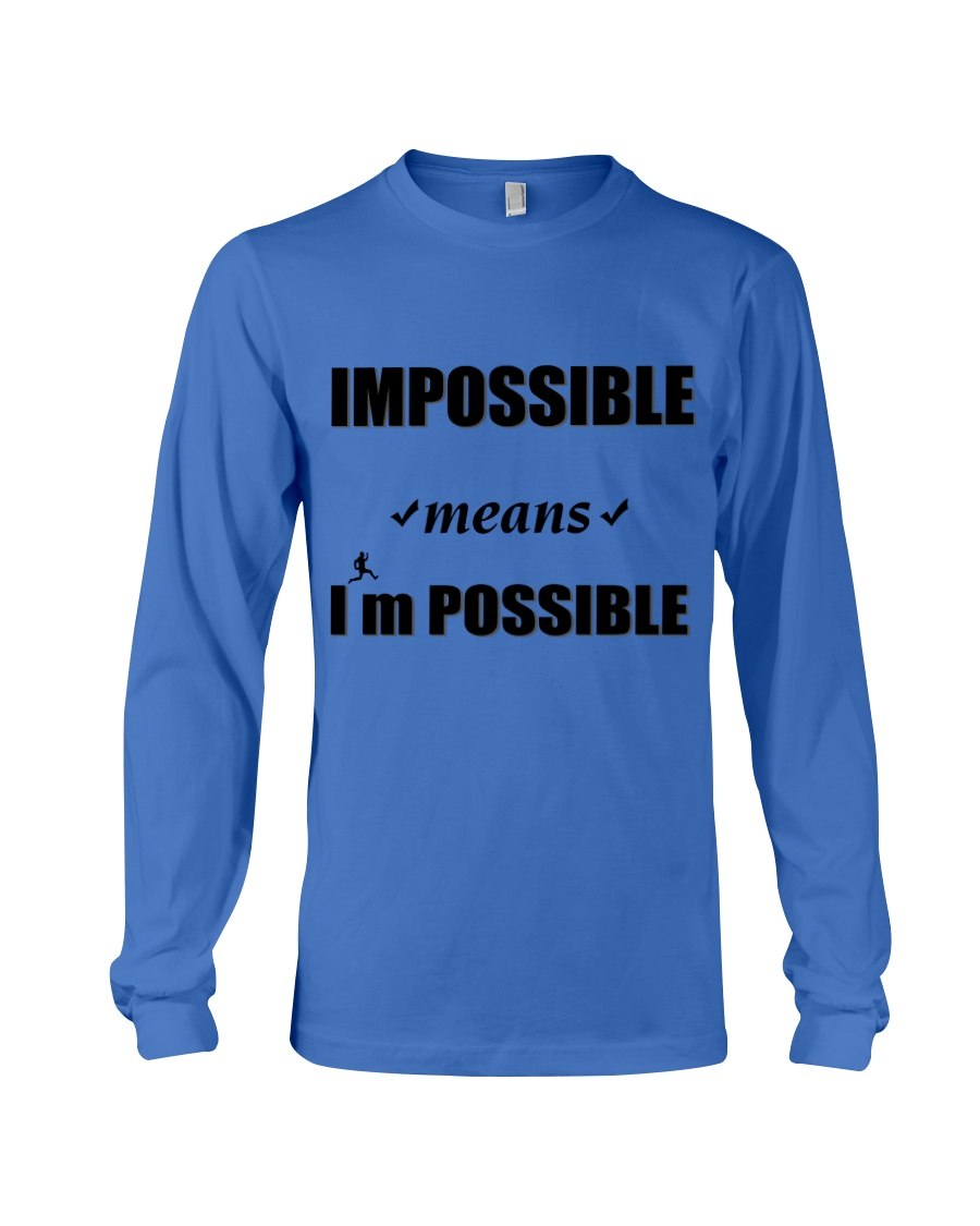 Imposible-NDA Long Sleeve Tee