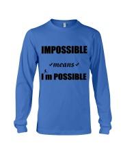 Imposible-NDA Long Sleeve Tee front