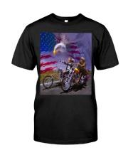 BIKER - DTS Classic T-Shirt front