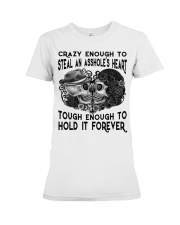 TOUHG ENOUGH TO HOLD IT FOREVER Premium Fit Ladies Tee thumbnail