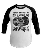 TOUHG ENOUGH TO HOLD IT FOREVER Baseball Tee thumbnail