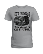 TOUHG ENOUGH TO HOLD IT FOREVER Ladies T-Shirt thumbnail