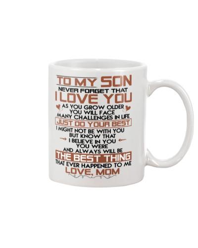 MUG - TO MY SON - DTS