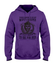 I'M MY DAUGHTER'S KEEPER Hooded Sweatshirt tile