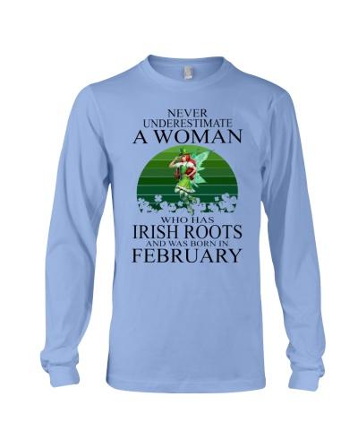 IRISH WOMAN WAS BORN IN FEBRUARY