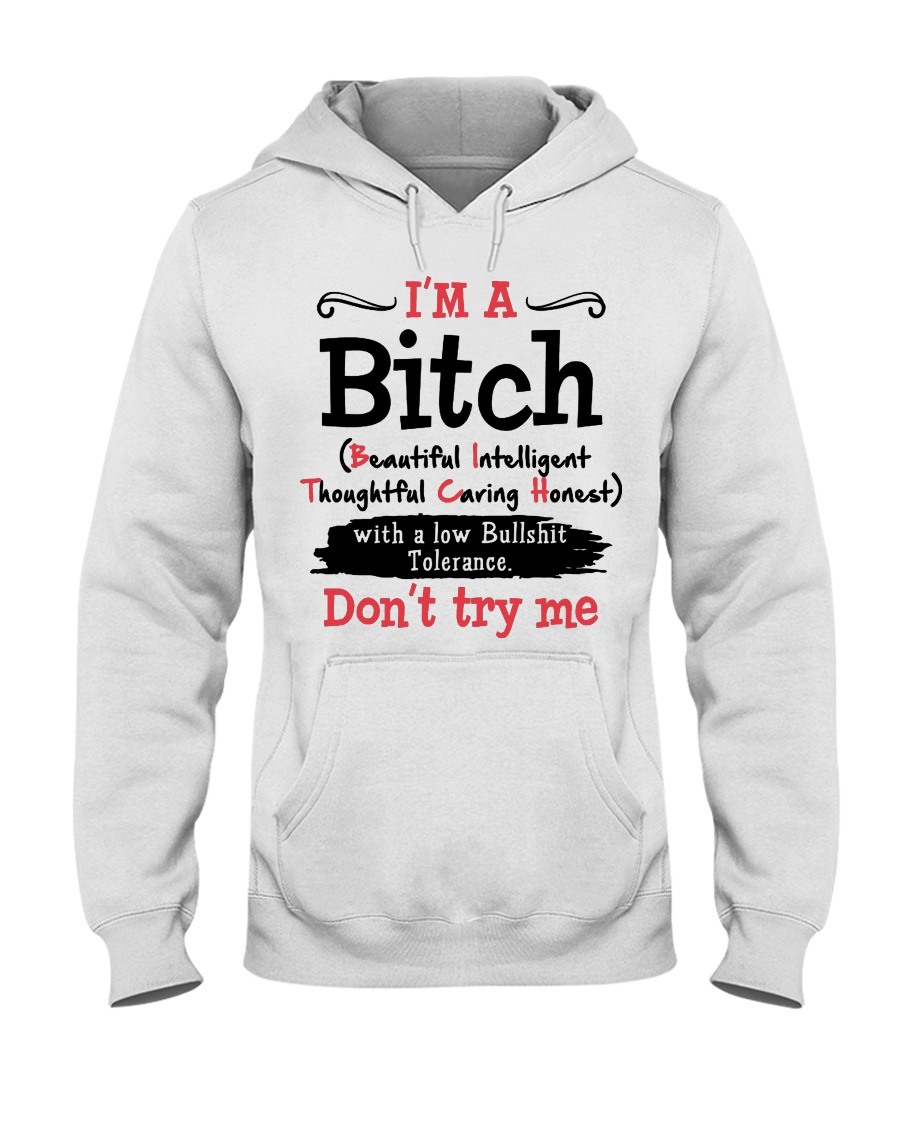 DON'T TRY ME Hooded Sweatshirt