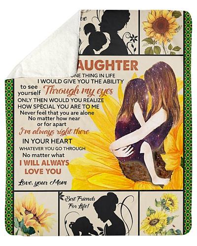 Blanket-To my Daughter-Sunflower