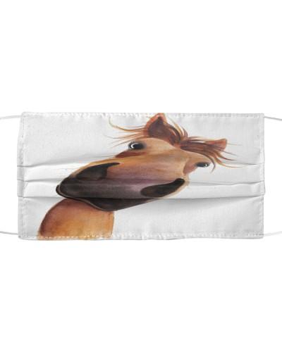 Face Veil Horse 4