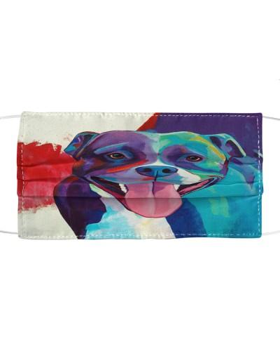 Fabric Mask Pitbull