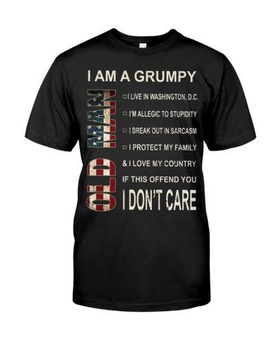 Limited Edition-Grumpy Old Man-Wasington DC