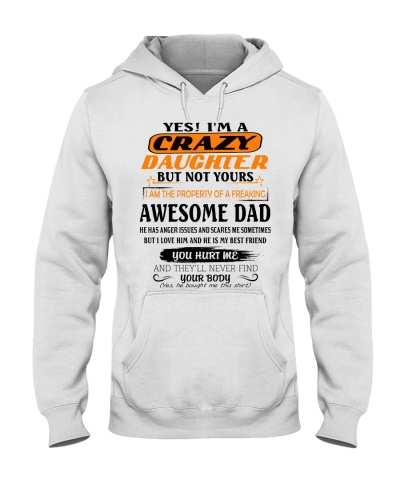 CRAZY GIRL AND AWESOME DAD  - STORE DPT