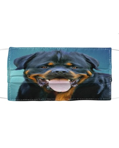 Fabric Mask Rottweiler Lover  - PC