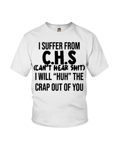 I SUFFER FROM CHS- DTS