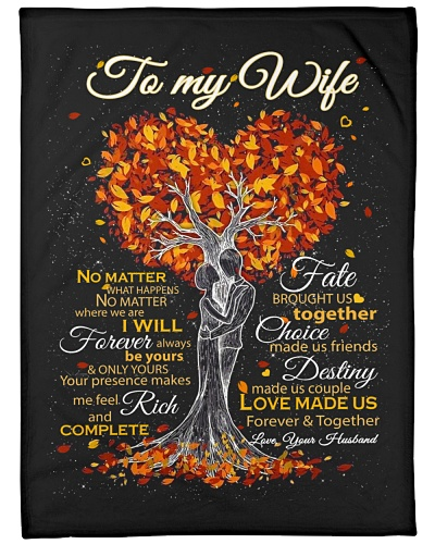 Blanket - To my Wife - PCC